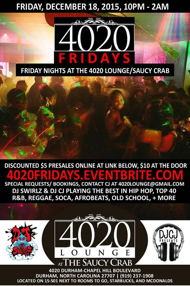 4020 Fridays | 12/18/2015