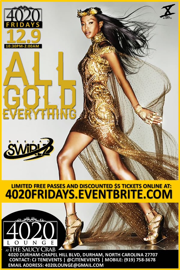 All Gold Everything {4020 Fridays}