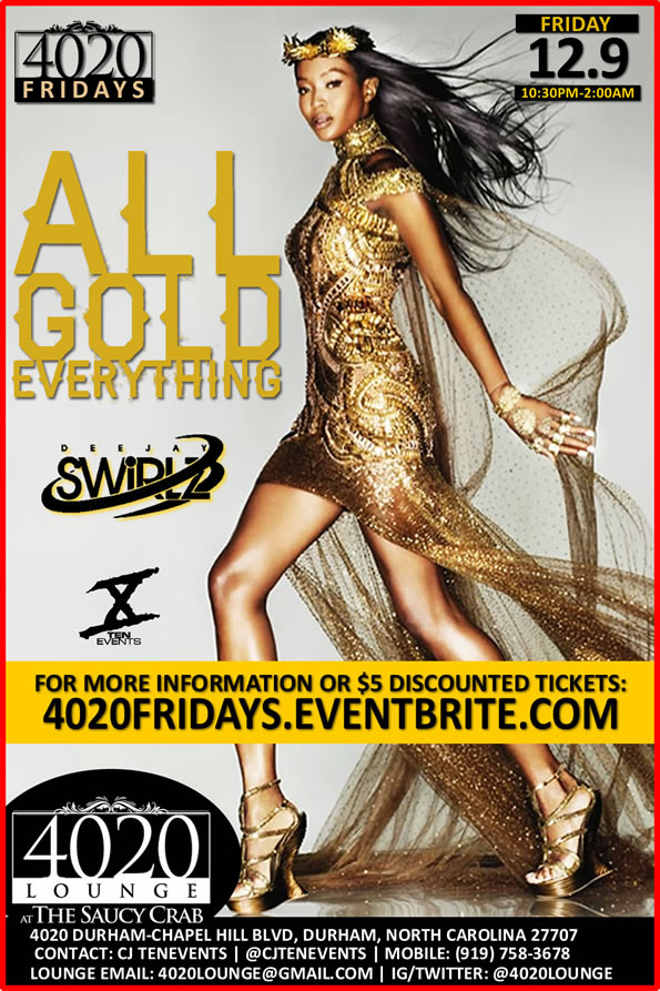 All Gold Everything {4020 Fridays} - 12/9/2016