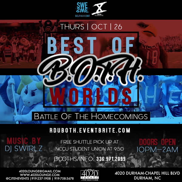 Best of B.O.T.H. Worlds - Battle of the Homecomings