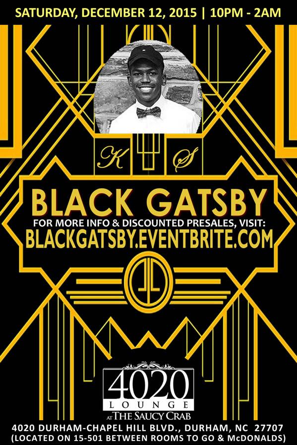 Black Gatsby   12.12.2015