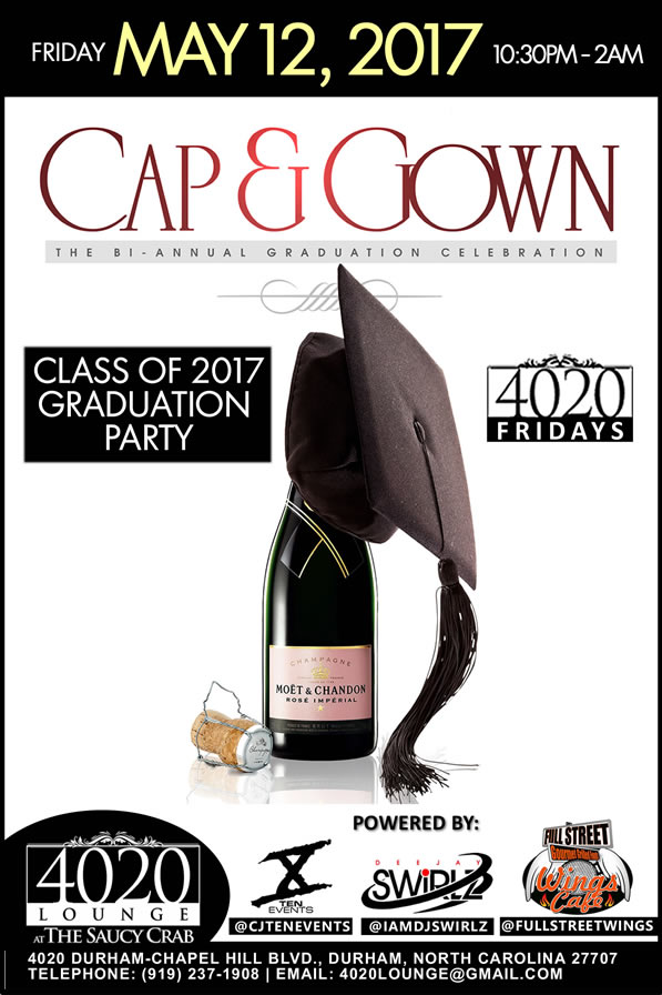 Cap and Gown 2017 - 4020 Fridays