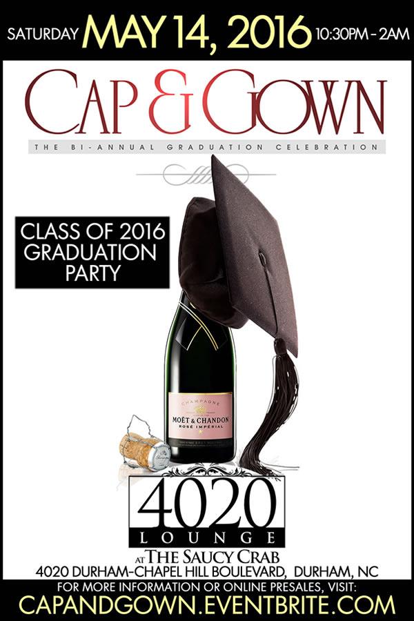 Cap and Gown - 2016 Graduation Celebration