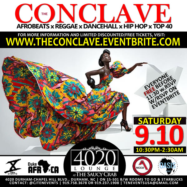 The Conclave {AfroBeats X Reggae X Hip Hop}