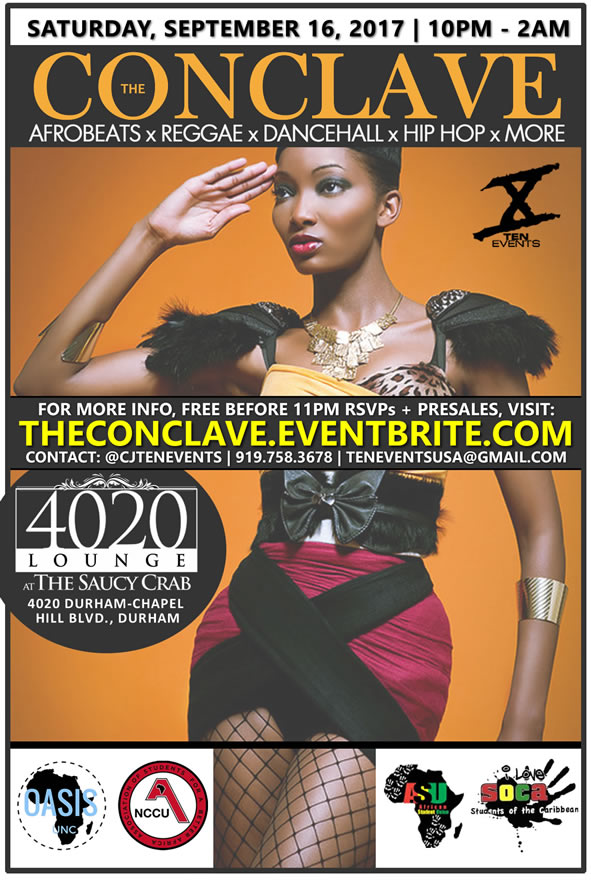 The Conclave {AfroBeats x Reggae x Hip Hop}   Back to School Edition