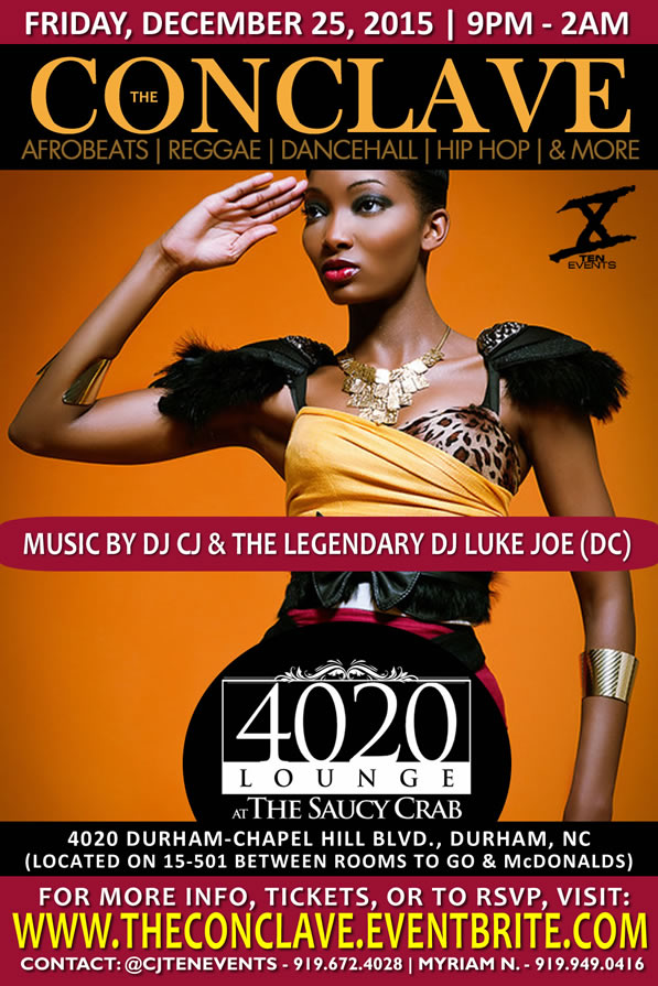 The Conclave - Christmas Edition {AfroBeats x Reggae x Dancehall}