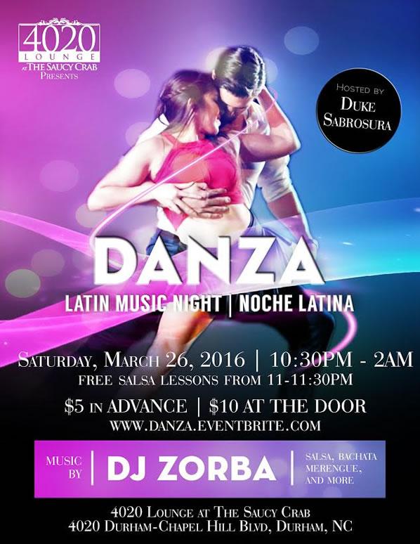 Danza - Noche Latina | 3/25/2016