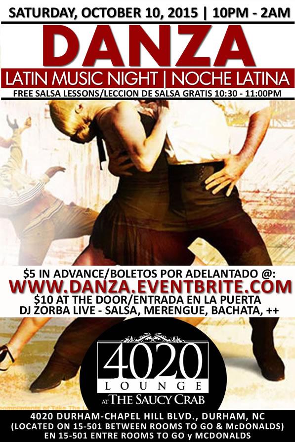 Danza Latin Night | October 10