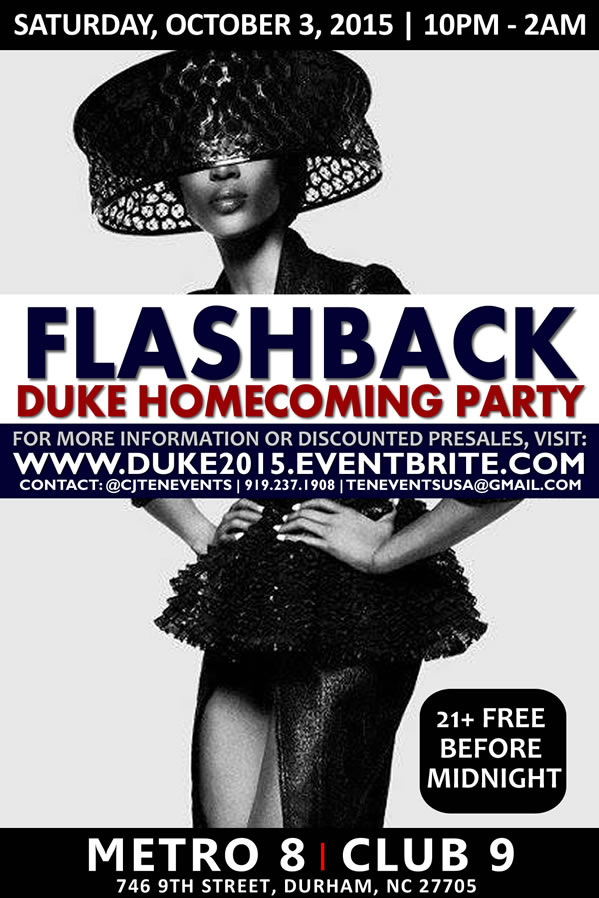 Flashback | 2015 Duke Homecoming Party