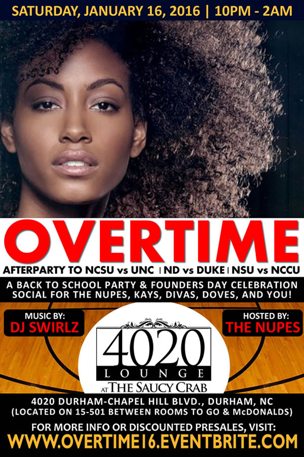 Overtime 2016   Back to School Party   Founders' Day Celebrations   Basketball Games Afterparty