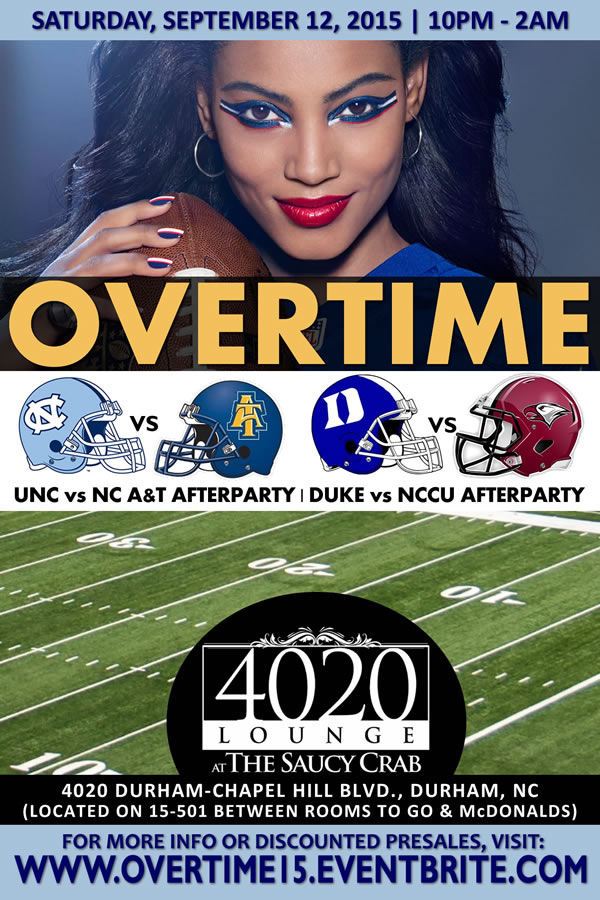 Overtime | Duke v NCCU + UNC vs NC A&T Afterparty