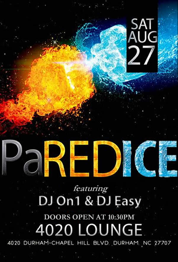PaREDICE   Back to School Party   8/27