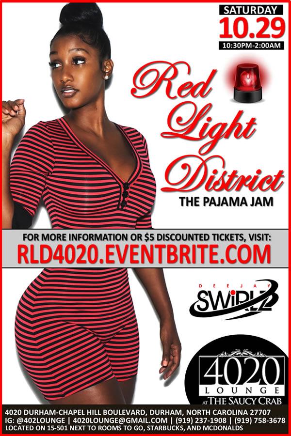 The Red Light District - A Pajama Jam - 10.29.2016