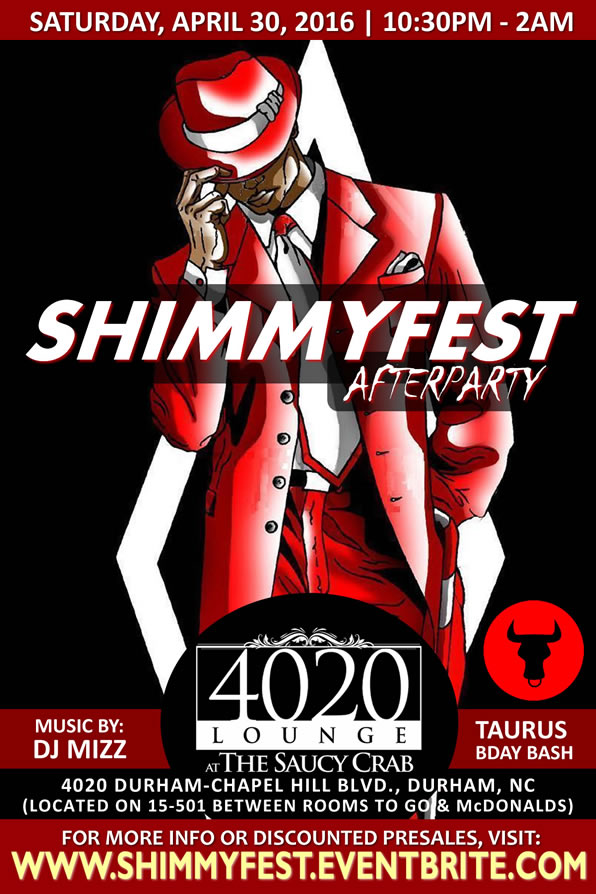 Shimmyfest Afterparty | 4.30.2016