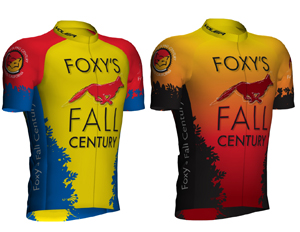 2014 Foxy's Fall Century Jerseys