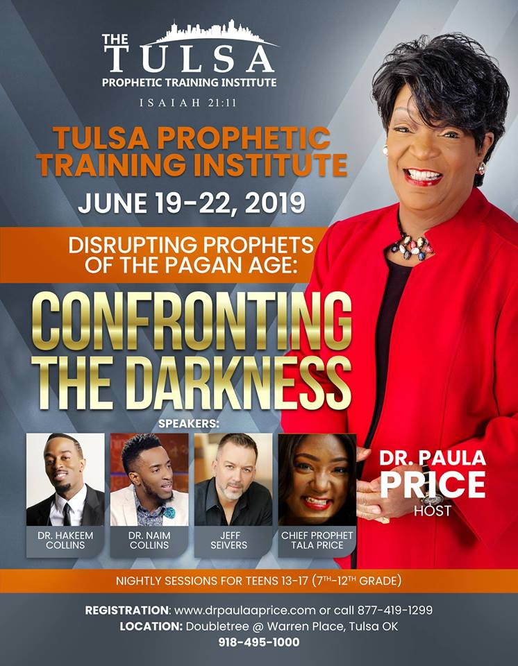 Tulsa Prophetic Training Institute Flyer 2019