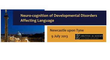 Neuro-cognition of Developmental Disorders Affecting Language...