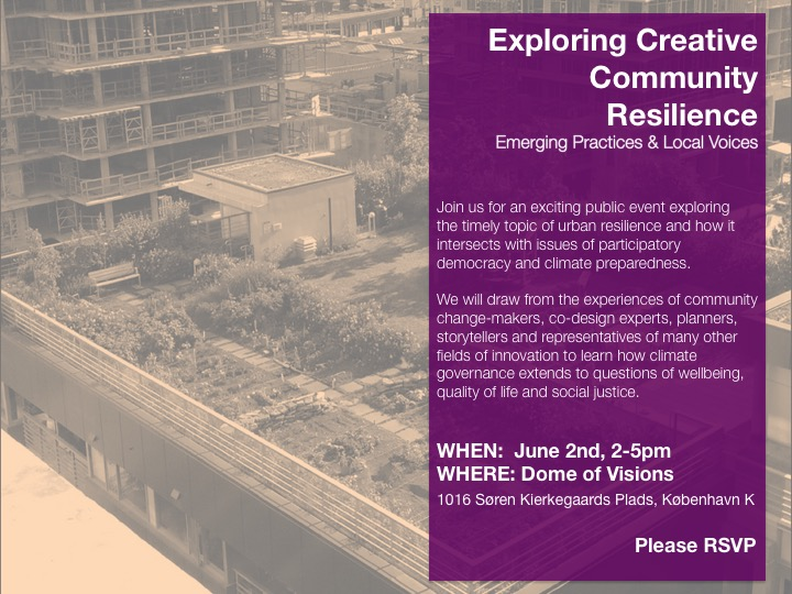 Creative Community Resilience