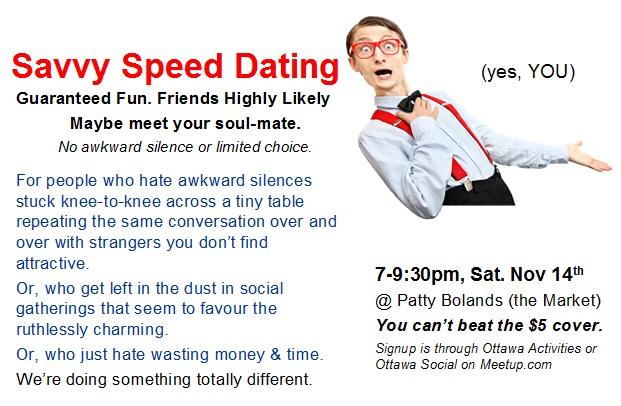 Relish speed dating ottawa