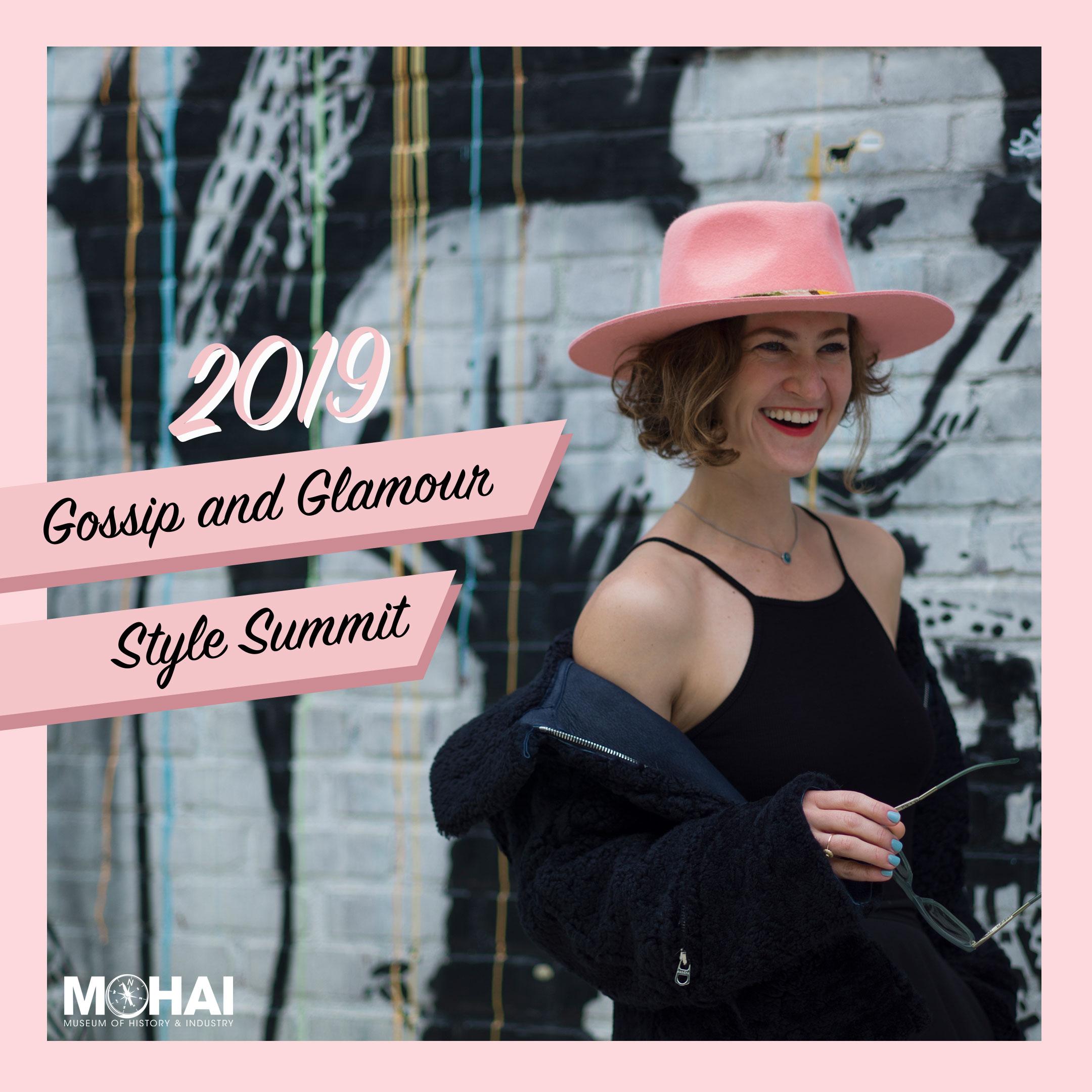 Gossip & Glamour Style Summit Graphic