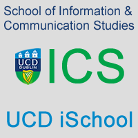University College dublin School of Information and Library Studies logo