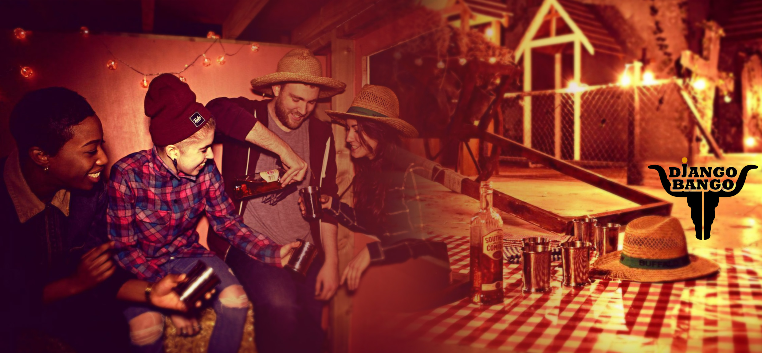 Django Bango - Wild West Popup in East London