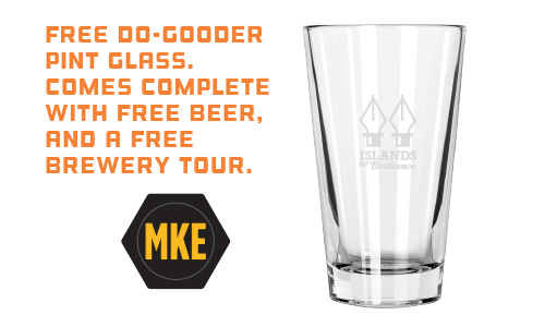 Free pint glass