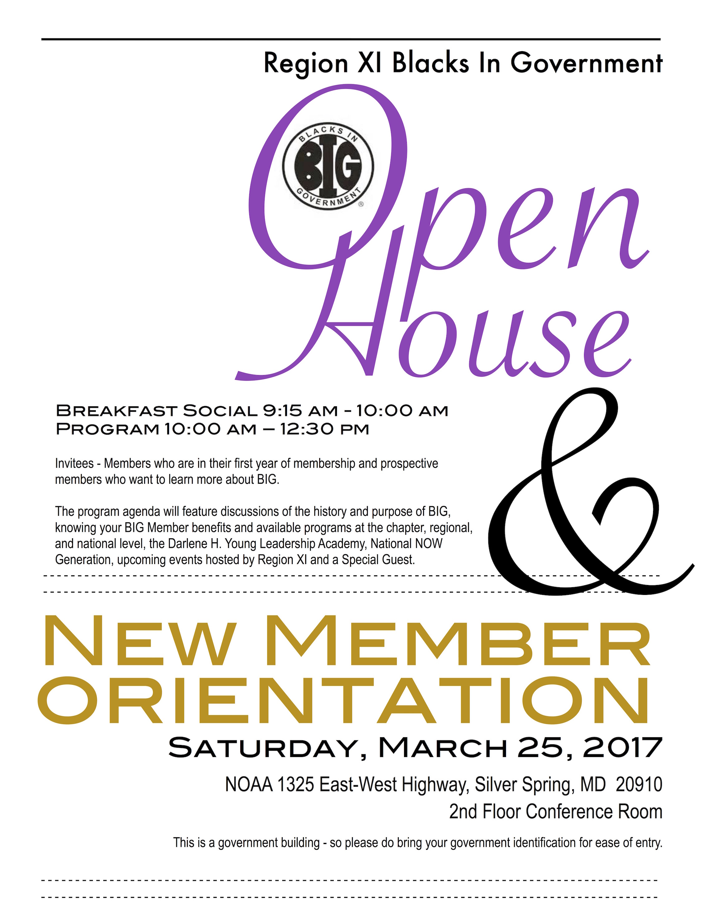 2017 Open House - March