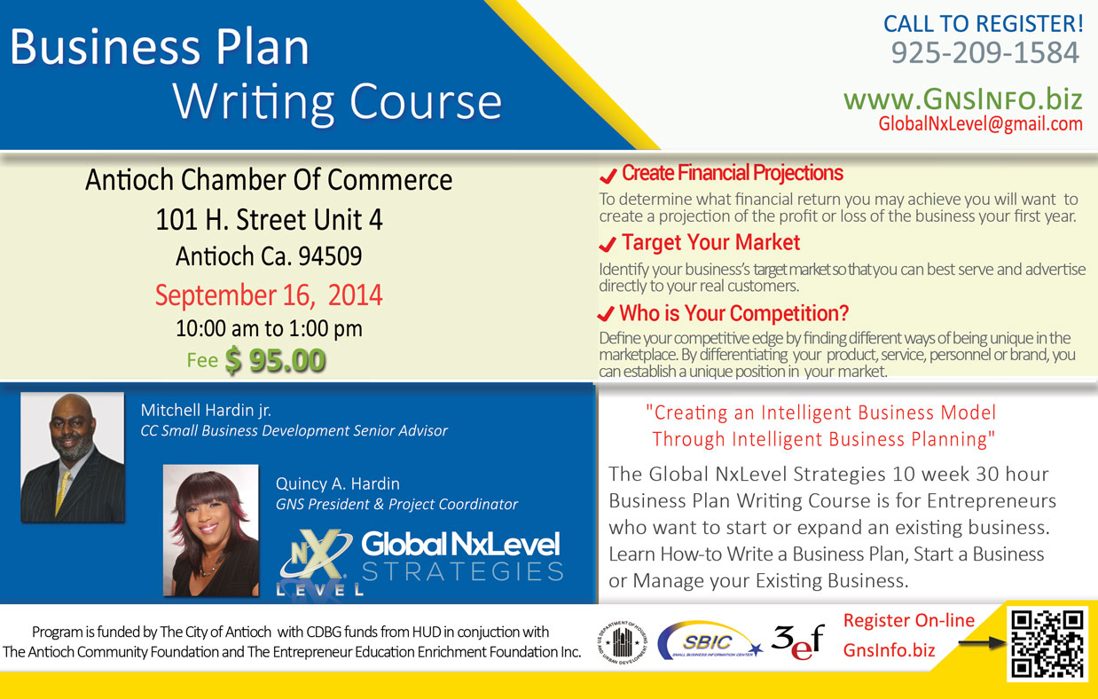 GNS Business Plan Course