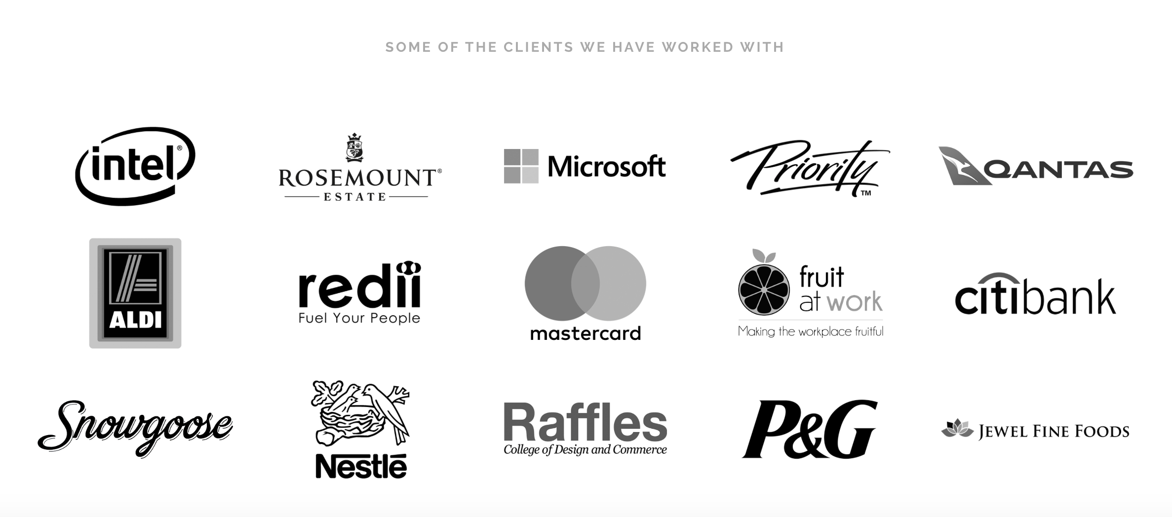 Clients We Have Worked With