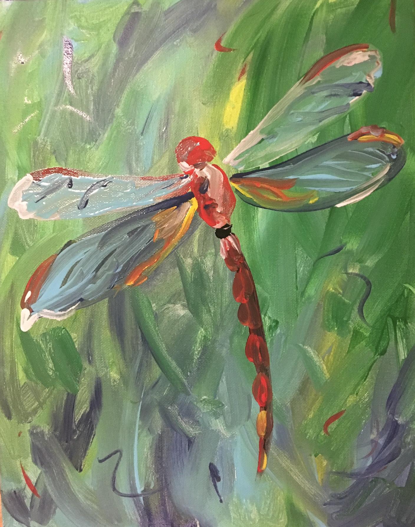 flit fly dragonfly paint-along - farnsworth house inn tavern