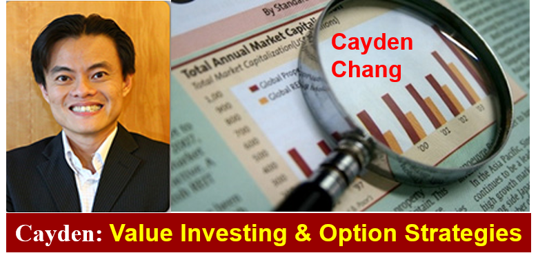 Invited Talk (Value Investing and Option Strategies) by Cayden Chang