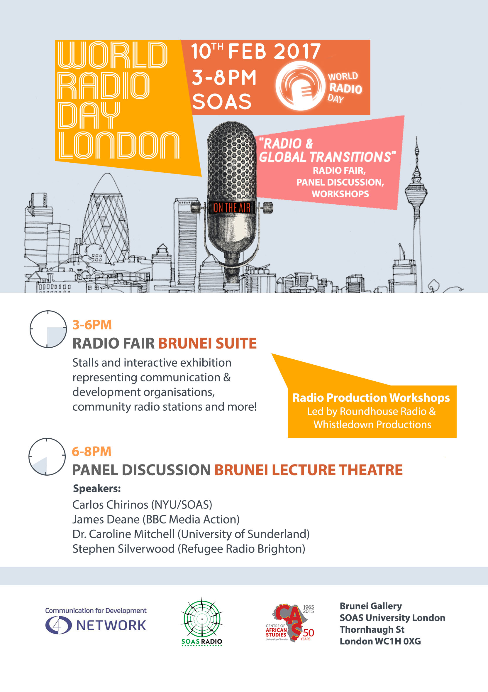World Radio Day London 2017 Poster