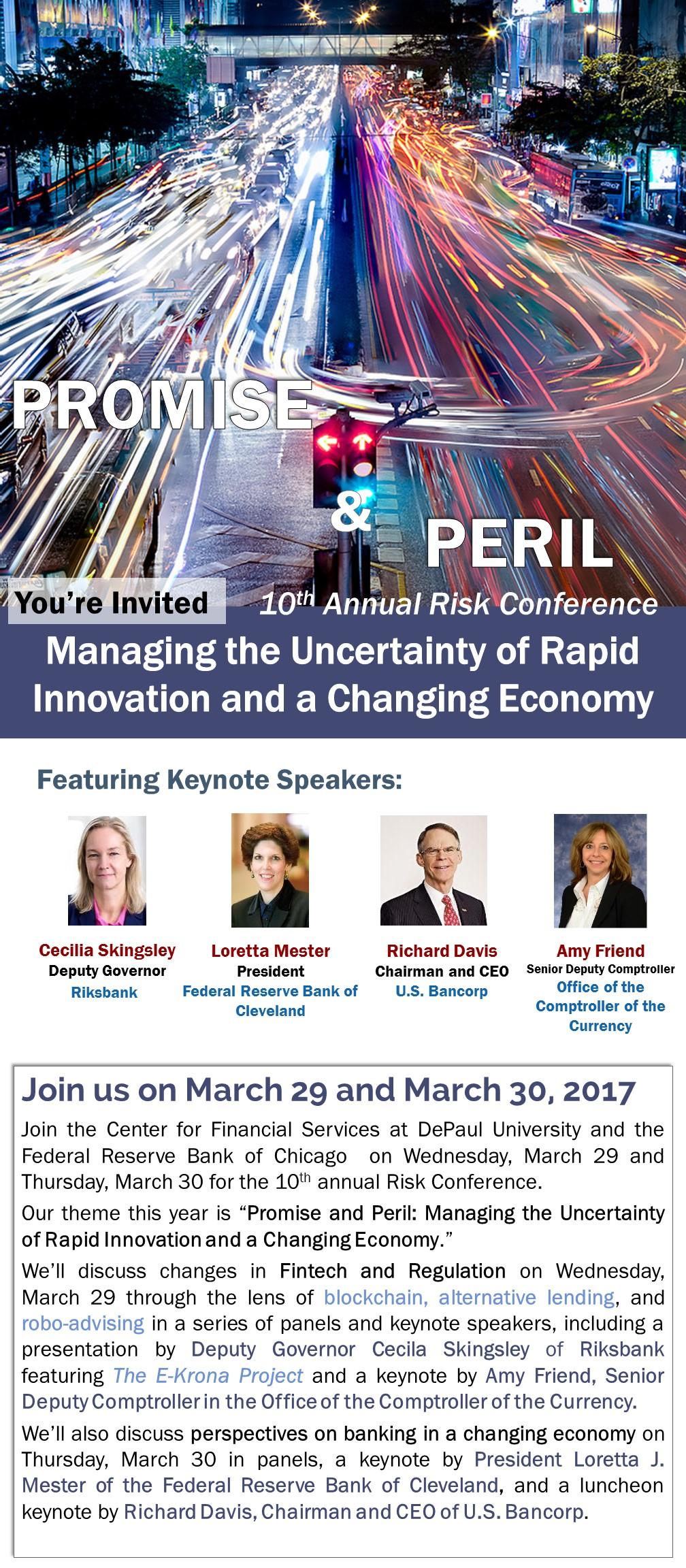Promise and Peril Conference Description