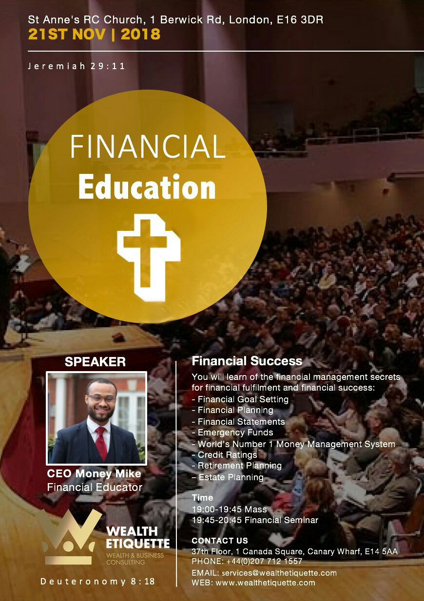 Financial Education Seminar