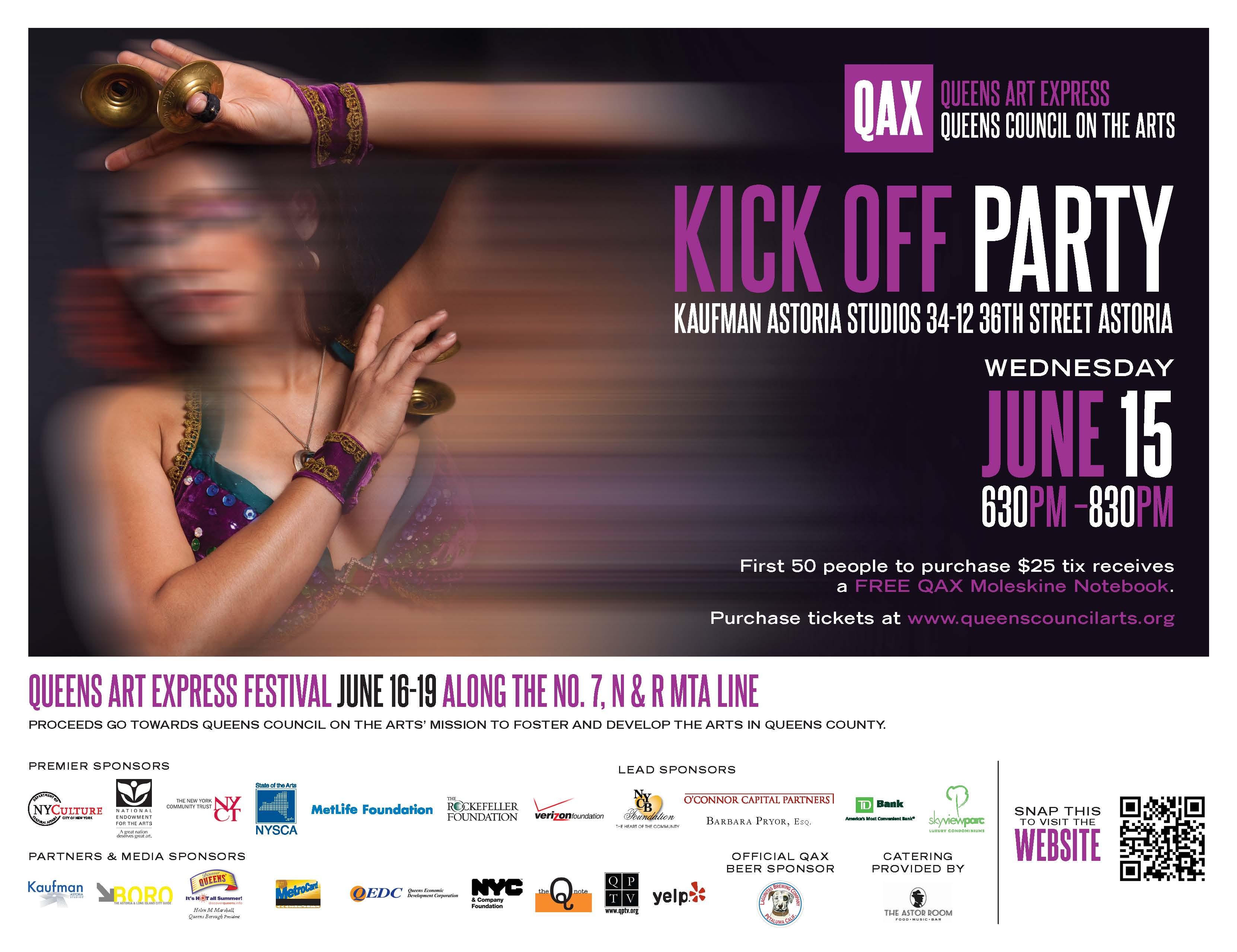 QAX Kick Off Party 6.15.11