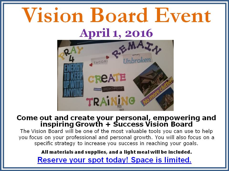 EVENT: B.O.O.M! Will Be Speaking At A Vision Board Party ... |Events Vision Board