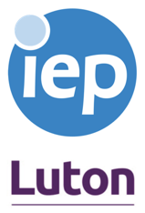 IEP and Luton logo