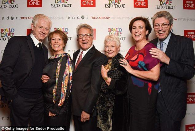 Richard Curtis, Hilary Bevan Jones, Dustin Hoffman, Judi Dench, Paul Mayhew-Archer
