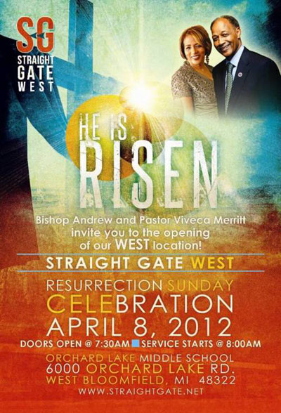 Straight Gate West Resurrection Sunday