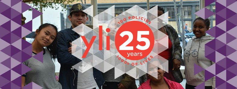 YLI 25 Event Image with 6 inspirational youth leaders