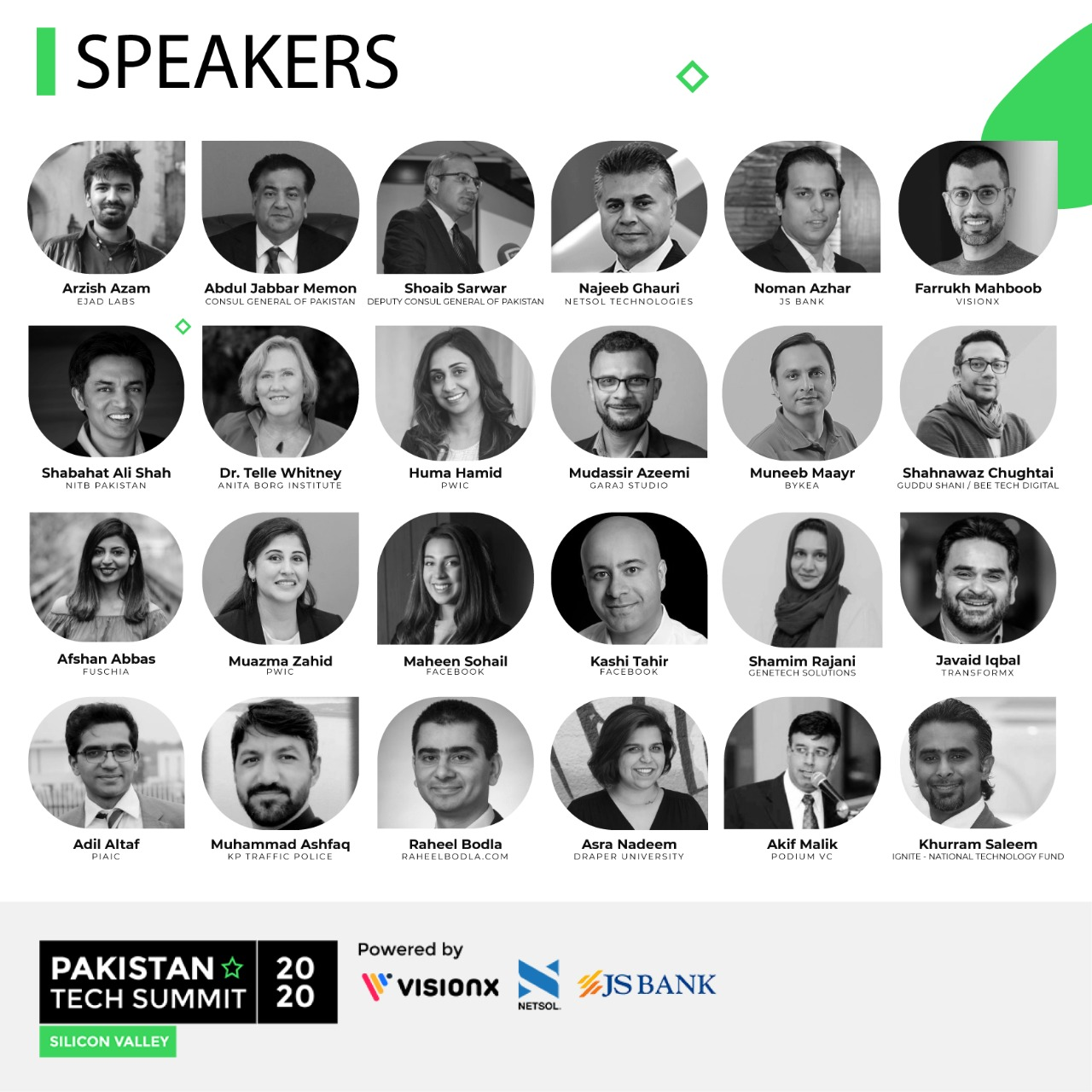 Pakistan Tech Summit - Speakers