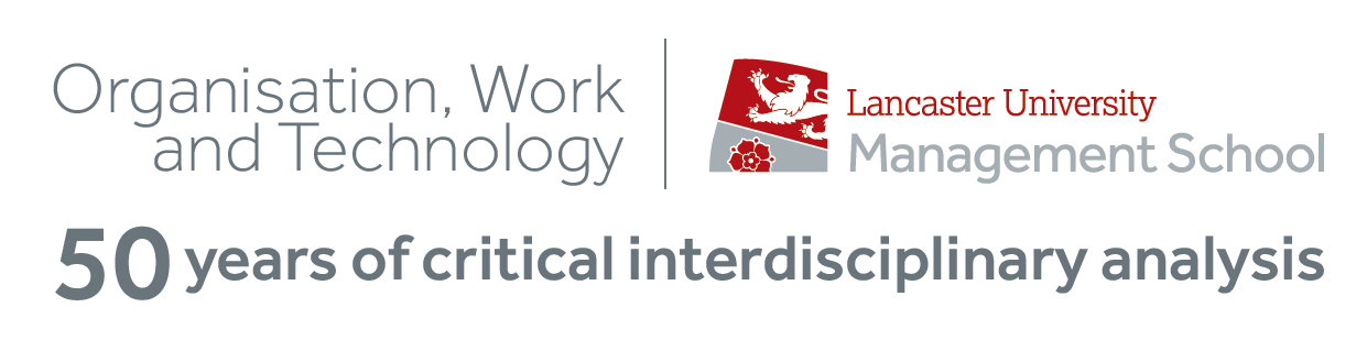 Organisation, Work and Technology: 50 years of critical interdisciplinary analysis logo