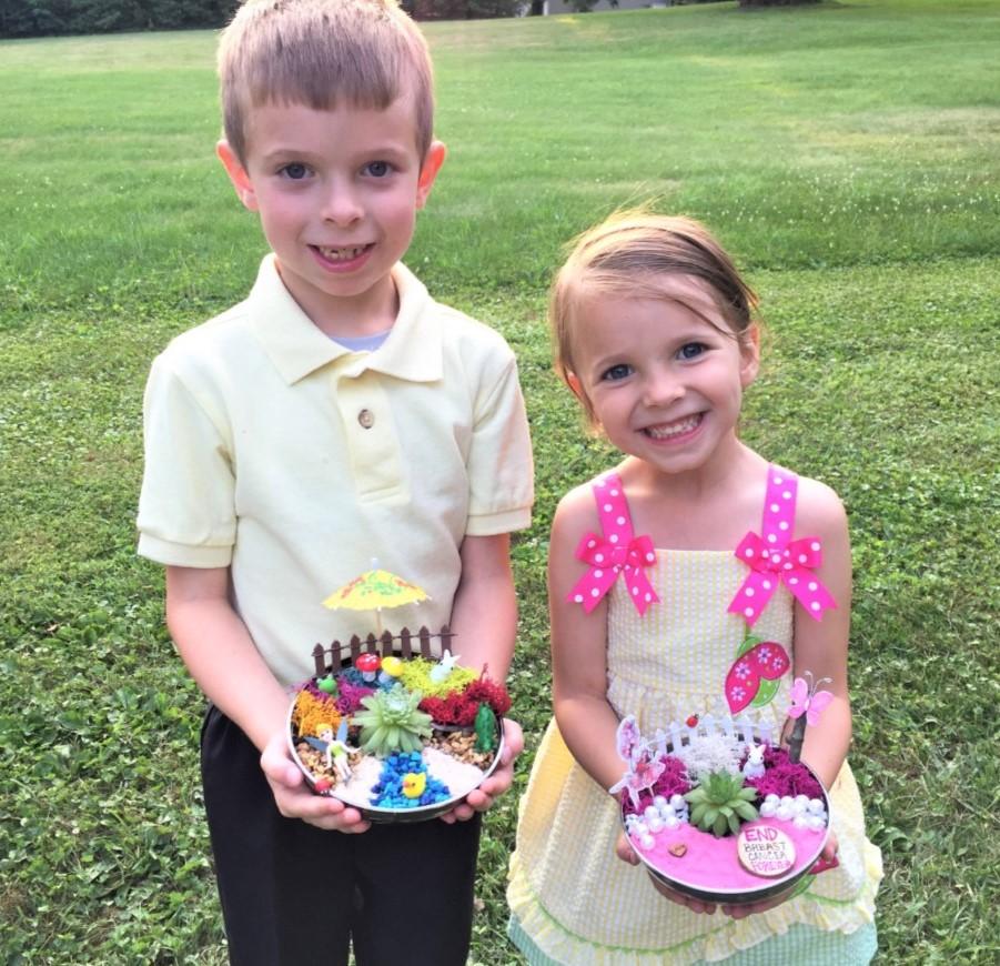 Kids Fairy garden party
