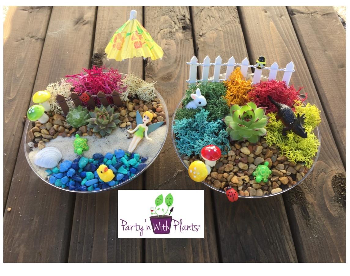 Enchanted Fairy Day Garden
