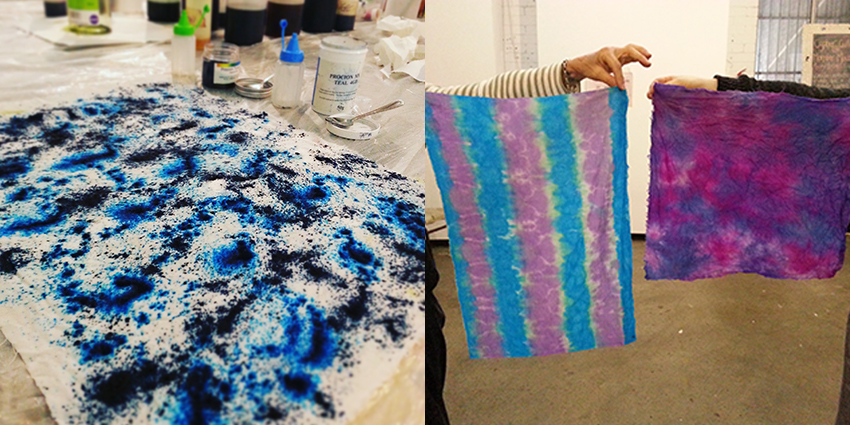 Fibre Reactive Dye Fabric Dyeing Workshop