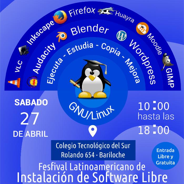 Flisol 2019 - Bariloche