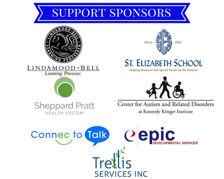 Support sponsors