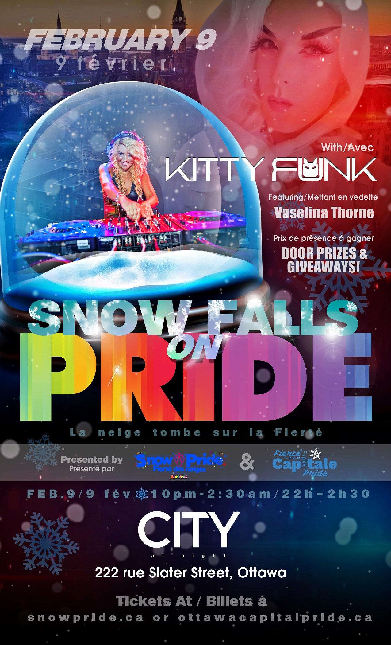 Snow Falls On Pride