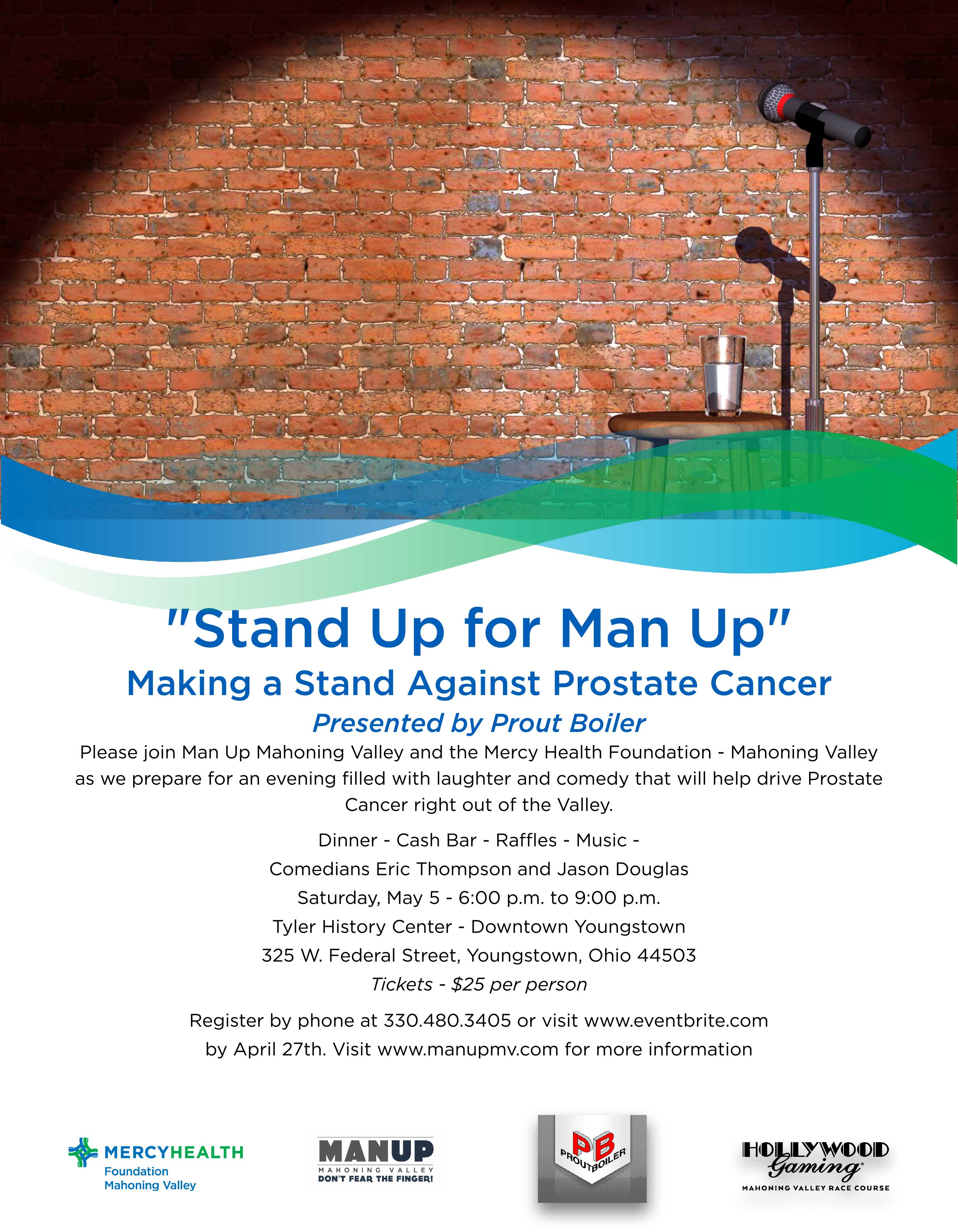 Stand Up for Man Up flyer